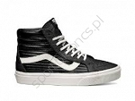 Vans Sk8-Hi Moto Leather Black White (W)